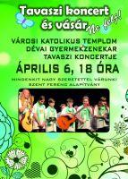 Bővebben: Tavaszi Koncertre készülünk