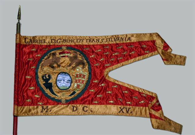 Bethlen Gábor erdélyi fejedelem zászlaja 1617-ből