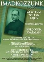 Bővebben: Meszlényi Zoltán boldoggáavatása
