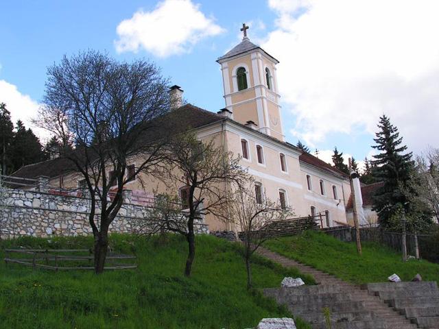 A szárhegyi kolostor