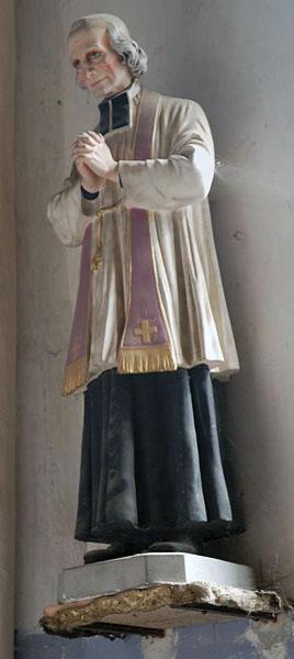 Szobra egy kis francia falu templomában.