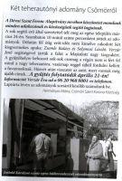 Bővebben: Két teherautonyi adomány Csömörről