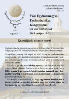 Bővebben: Eucharisztikus Kongresszus