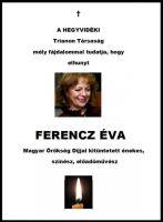 Bővebben: Elhunyt Ferencz Éva