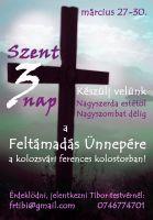 Bővebben: Szent 3 nap