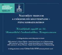 Bővebben: Triduum Csíksomlyón 2020