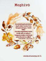 Bővebben: Meghívó Szüreti bálba - 2019