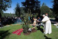 Bővebben: Ferenc pápa fát ültetett Assisi Szent Ferenc emléknapján