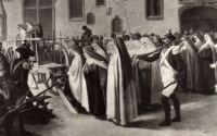 Bővebben: Énekelve sétáltak a guillotine alá a compiégne-i apácák