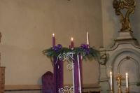 Read more: The lighting of the second Advent candle...