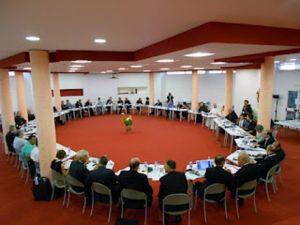 A 10. Európai Máriás Háló résztvevői a római Santa Teresa Couderc Zarándokközpontban