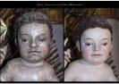 A csíksomlyói Mária-szobor tisztítása