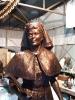 Ausztrál katonai ápolónõ bronz szobra
