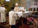 Az érsek atya látogatása Szászvároson