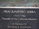 Boldog Junipero Serra ferences atya által alapitot