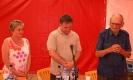 Csaba testvér és Antal atya Tusványoson könyvbemut
