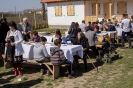 Házszentelési ünnepség Dózsa Györgyön