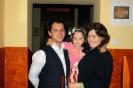 Erika és Szabolcs a kis Krisztinával!