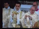Ferenc pápa első miséje