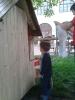 Május elseje a gyulafehérvári otthonban