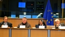 Konferencia, az Európai Parlament székházában