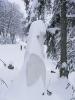 Szárhegyen a házat betemette a hó