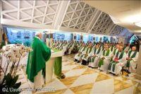 Bővebben: Az élet kenyerét adjuk, ne pedig mérgezett ételt Isten népének – Ferenc pápa csütörtök reggeli...