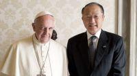 Bővebben: A Világbank elnökét fogadta Ferenc pápa